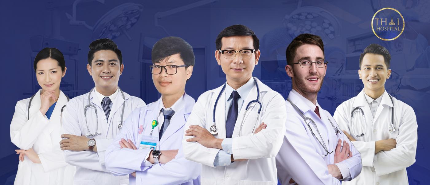 Đội ngũ chuyên gia hàng đầu của Viện Thẩm Mỹ THAI Hospital