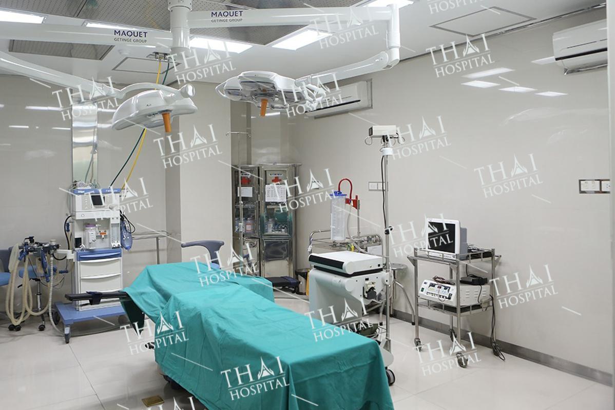 Phòng phẫu thuật tại THAI Hospital đảm bảo vô trùng
